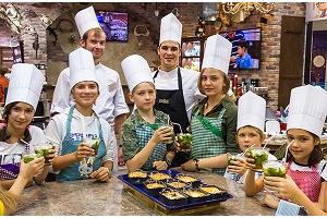 Открытие детской кулинарной школы