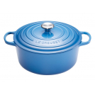 Kitchenware Le Creuset 21177262002430 Round Dutch Oven 26 cm, cast iron, colour: Marseille