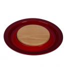 LE CREUSET 91044900060010 Подставка для сыра с деревянной доской 37х3,5 см, вишня