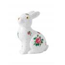 """Фигурка кролика (декор """"Розовые розы)"""" Royal Albert, фарфор"""