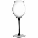 Hermitage glass, Riedel Sommelier black tie 4100/30