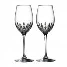 143782 Set of white wine glasses, 2 pcs, Lismore Essence, 24 cm, Waterford, crystal