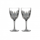 160018 Set of red wine glasses, 2 pcs, 20 cm, Lismore Diamond, Waterford, crystal