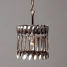 CV800 Spoon Pendant Light 1 level -40 spoons Cake Vintage, length 20.3 cm, 1 light bulb 100 W