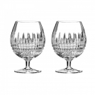 161006 Set of brandy glasses, 2 pcs, Lismore Diamond, Waterford, crystal