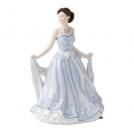 """PEFISC12177 Статуэтка Джилиан, """"Маленькие леди"""", 17 см Royal Doulton, фарфор"""
