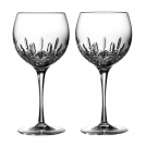 143784 Set of wine glasses, rounded shape, 2 pcs, Lismore Essence, 21.4 cm, Waterford, crystal
