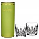 """Набор низких стаканов """"Лисмор"""", 2 шт, зеленая п/упак, """"Искусство дарить подарки"""" Waterford, хрусталь"""
