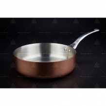 Saucepans, saute pans copper