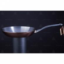 Frying pans, woks copper