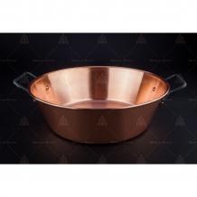 Jam-cooking pots copper
