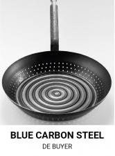 Blue carbon steel