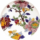 Large wall plate, GIEN, Peony, diameter 61.5 cm