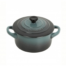 Le Creuset Round Dutch oven 24 cm, cast iron, colour: ocean
