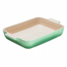 Le Creuset Rectangular dish 26 cm, stoneware, colour: rosemary