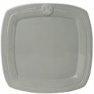 Обеденная тарелка, OSLO, серая, 28 см.