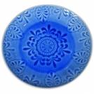 Десертная тарелка, LUGO, голубая, 21 см.
