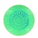 Десертная тарелка, LUGO, зеленая, 21 см.