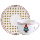 Large Cup and Saucer, GIEN, Lucien, 450 ml, 18.8 cm