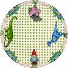 Round platter (for cake), GIEN, Lucien, 30 cm