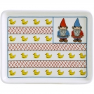 Set of small trays, GIEN, Lucien, 2 pcs, 14 x 12 cm