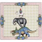 Square platter Gien, Lucien, 29.5 x 26.5 cm