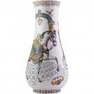 Музейная ваза большая Gien, Лошади солнца, Н 61 см, диам.29 см