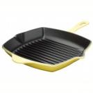 Le Creuset Square Skillet Grill, 26 cm, colour: yellow