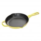 Le Creuset Frying pan 23 cm, cast iron, colour: yellow