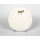 21078620-2 Dessert plate Jianwen, Donkey, 21 cm