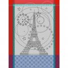 21143 Полотенце, Эйфелева башня, хлопок, 56*77 см.