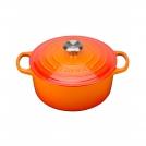 Le Creuset Round Dutch oven 18 cm, cast iron, colour: cherry