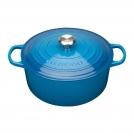 Le Creuset Round Dutch oven 18 cm, cast iron, colour: Marseille