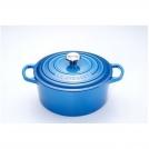 Le Creuset Round Dutch oven 20 cm, cast iron, colour: Marseille