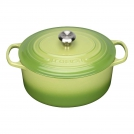 Le Creuset Round Dutch oven 22 cm, cast iron, colour: palm