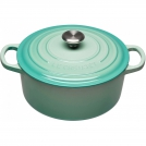 Le Creuset Round Dutch oven 22 cm, cast iron, colour: mint
