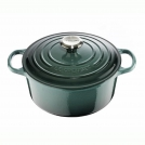 Le Creuset Round Dutch oven 26 cm, cast iron, colour: ocean