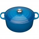 Le Creuset Round Dutch oven 28 cm, cast iron, colour: Marseille