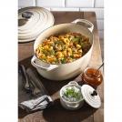 Le Creuset Oval Dutch oven 31 cm, cast iron, colour: almond