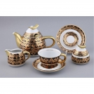 Tea set with teapot, Rudolf Kampf 1.2l, 15 items, for 6 people, Kelt collection, 2293k