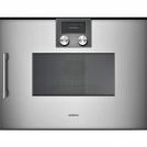 Встраиваемый электрический духовой шкаф GAGGENAU BMP250110 ширина 90 см, нержавеющая сталь