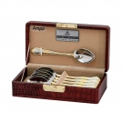 Set of Coffee spoons Solingen Ampir (6 items) 4005481323613