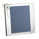 Photo frame Vera Wang Love Knots, 20x25, silver plated Wedgwood, metal, glass, cardboard