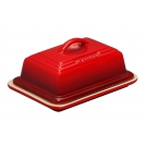 LE CREUSET91015800060000Масленка с крышкой, 17 см Х 12 см, цвет вишневый