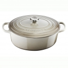 Le Creuset Oval Dutch oven 27 cm, cast iron, colour: nutmeg