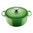 Le Creuset Round Dutch oven 20 cm, cast iron, colour: rosemary