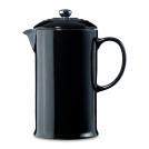 Кофейник-чайник с френч-прессом, цвет черный, 91028200140000, LE CREUSET