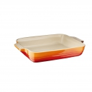 Le Creuset Rectangular dish 26 cm, stoneware, colour: orange lava