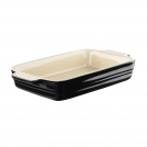 Le Creuset Rectangular dish 26 cm, stoneware, colour: matte black