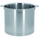 Tall cooking pot CRISTEL, L removable handle, 20 cm.